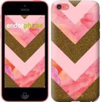 Чехол для iPhone 5c Нежный шефрон 3538c-23