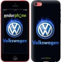 Чехол для iPhone 5c Volkswagen. Fire logo 3141c-23