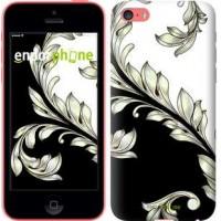 Чехол для iPhone 5c White and black 1 2805c-23
