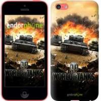Чехол для iPhone 5c World of tanks v1 834c-23