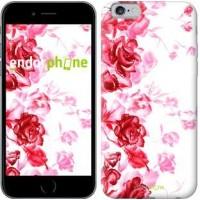 Чехол для iPhone 6s Нарисованные розы 724c-90