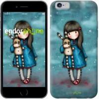 Чехол для iPhone 6 Девочка с зайчиком 915c-45