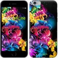 Чехол для iPhone 6 Абстрактные цветы 511c-45