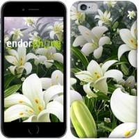Чехол для iPhone 6s Белые лилии 2686c-90
