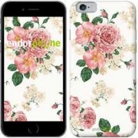 Чехол для iPhone 6s цветочные обои v1 2293c-90