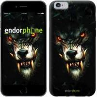 Чехол для iPhone 6s Дьявольский волк 833c-90