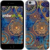 Чехол для iPhone 6 Золотой узор 678c-45