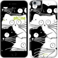 Чехол для iPhone 6 Коты v2 3565c-45