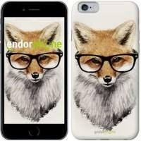 Чехол для iPhone 6 Лис в очках 2707c-45