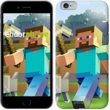 Чехол для iPhone 6s Minecraft 4 2944c-90