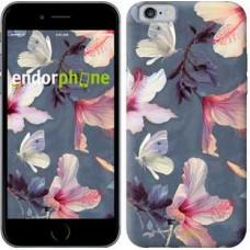 Чехол для iPhone 6s Нарисованные цветы 2714c-90