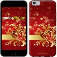 Чехол для iPhone 6s Ажурные сердца 734c-90