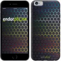 Чехол для iPhone 6 Переливающиеся соты 498c-45