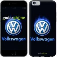 Чехол для iPhone 6 Volkswagen. Fire logo 3141c-45
