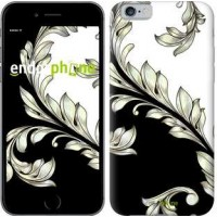 Чехол для iPhone 6 White and black 1 2805c-45