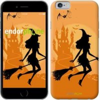 Чехол для iPhone 6 Ведьма на метле 1184c-45