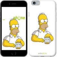 Чехол для iPhone 6 Задумчивый Гомер. Симпсоны 1234c-45
