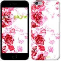 Чехол для iPhone 6s Plus Нарисованные розы 724c-91
