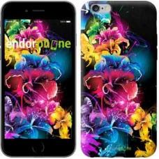 Чехол для iPhone 6s Plus Абстрактные цветы 511c-91