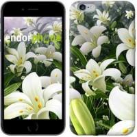 Чехол для iPhone 6 Plus Белые лилии 2686c-48