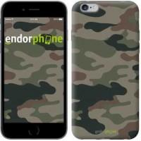 Чехол для iPhone 6s Plus Камуфляж v3 1097c-91