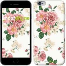 Чехол для iPhone 6s Plus цветочные обои v1 2293c-91