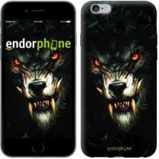 Чехол для iPhone 6s Plus Дьявольский волк 833c-91