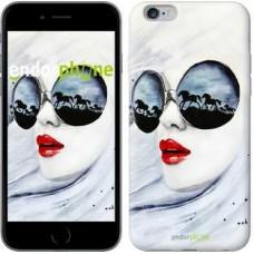 Чехол для iPhone 6s Plus Девушка акварелью 2829c-91