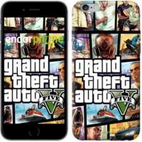 Чехол для iPhone 6s Plus GTA 5. Collage 630c-91