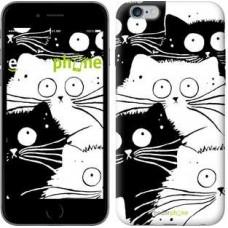 Чехол для iPhone 6s Plus Коты v2 3565c-91