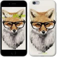 Чехол для iPhone 6s Plus Лис в очках 2707c-91