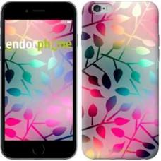 Чехол для iPhone 6s Plus Листья 2235c-91
