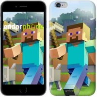 Чехол для iPhone 6s Plus Minecraft 4 2944c-91