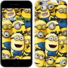 Чехол для iPhone 6s Plus Миньоны 8 860c-91