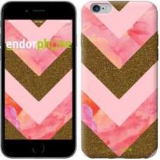 Чехол для iPhone 6s Plus Нежный шефрон 3538c-91