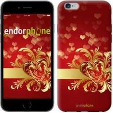 Чехол для iPhone 6s Plus Ажурные сердца 734c-91