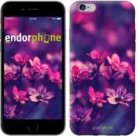 Чехол для iPhone 6s Plus Пурпурные цветы 2719c-91