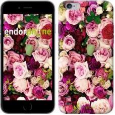 Чехол для iPhone 6s Plus Розы и пионы 2875c-91