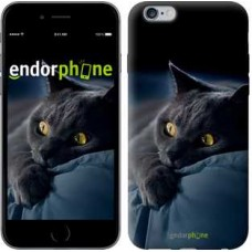 Чехол для iPhone 6s Plus Дымчатый кот 825c-91