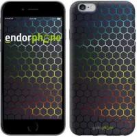 Чехол для iPhone 6 Plus Переливающиеся соты 498c-48