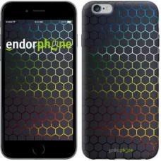 Чехол для iPhone 6s Plus Переливающиеся соты 498c-91