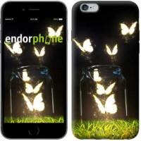 Чехол для iPhone 6s Plus Светящиеся бабочки 2983c-91