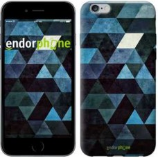 Чехол для iPhone 6s Plus Треугольники 2859c-91