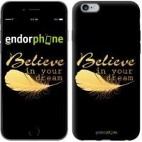 Чехол для iPhone 6 Plus Верь в свою мечту 3748c-48