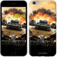 Чехол для iPhone 6s Plus World of tanks v1 834c-91