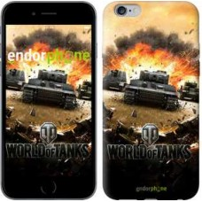 Чехол для iPhone 6s Plus World of tanks v1 834c-91