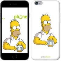 Чехол для iPhone 6s Plus Задумчивый Гомер. Симпсоны 1234c-91