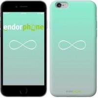 Чехол для iPhone 6s Plus Знак бесконечности 3204c-91
