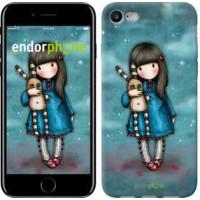 Чехол для iPhone 7 Девочка с зайчиком 915c-336