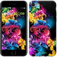 Чехол для iPhone 7 Абстрактные цветы 511c-336
